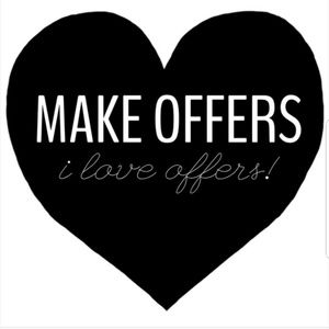 I L🖤ve receiving offers!! 😍
